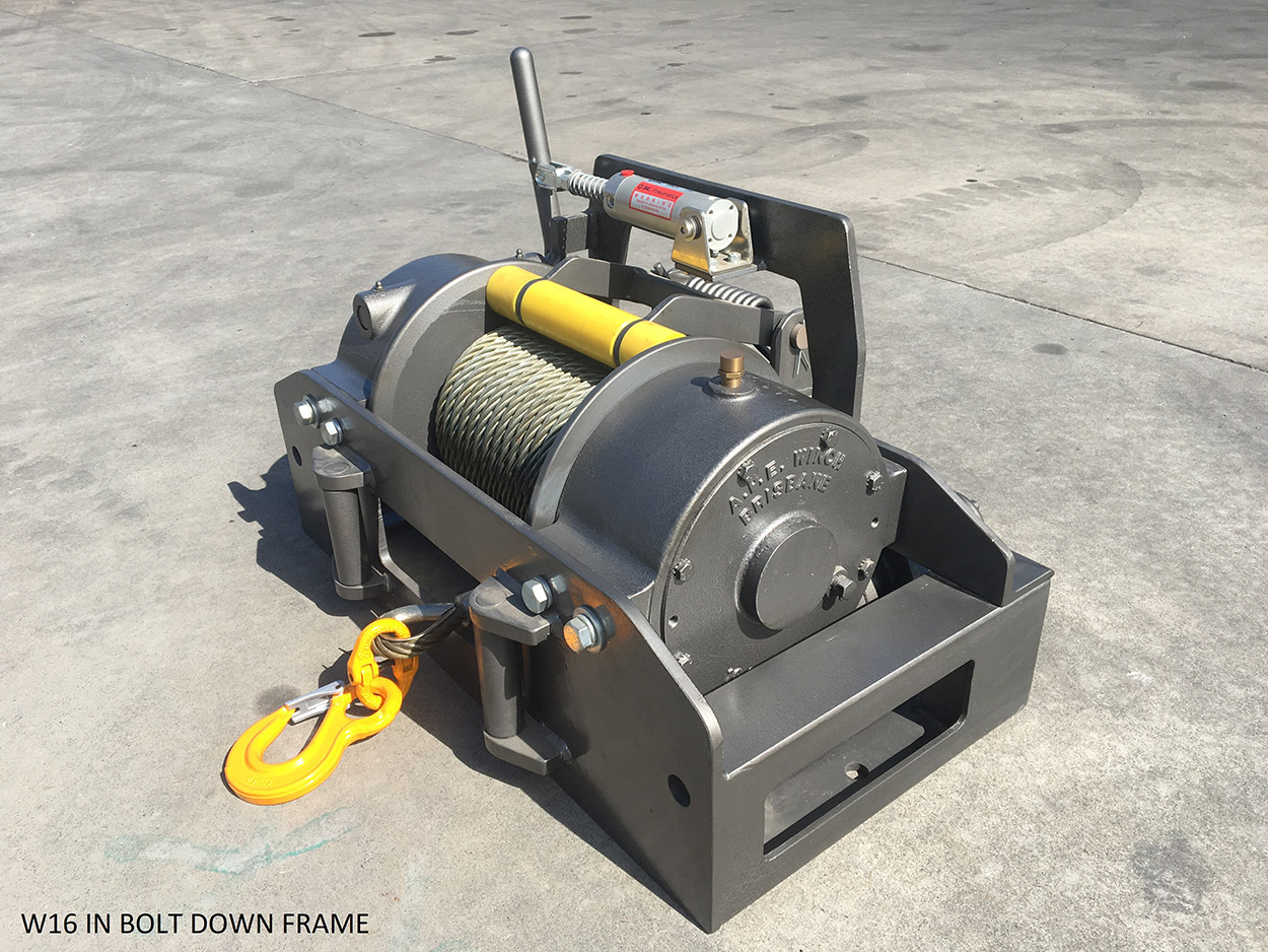 Winches - Gears & Winches