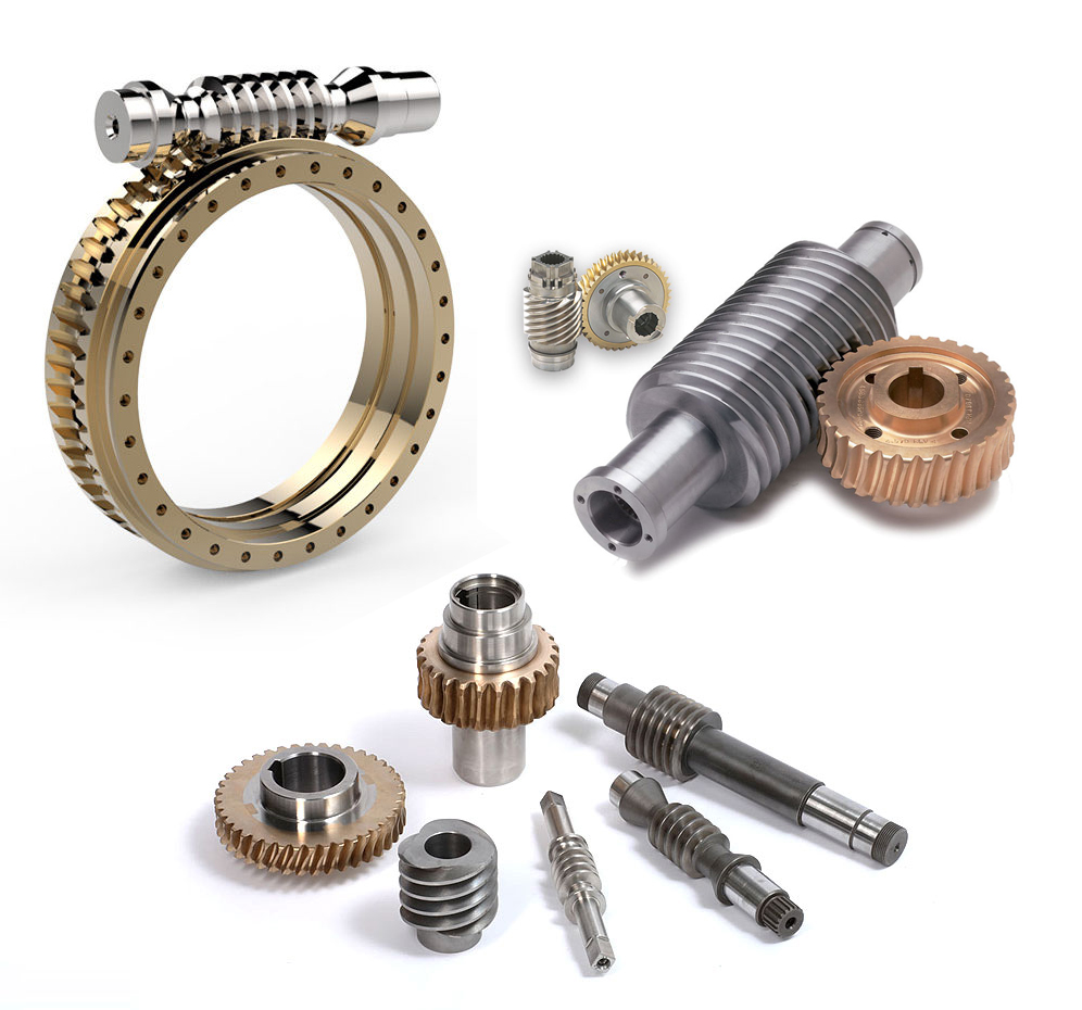 Parts built by our worm gear manufacturer